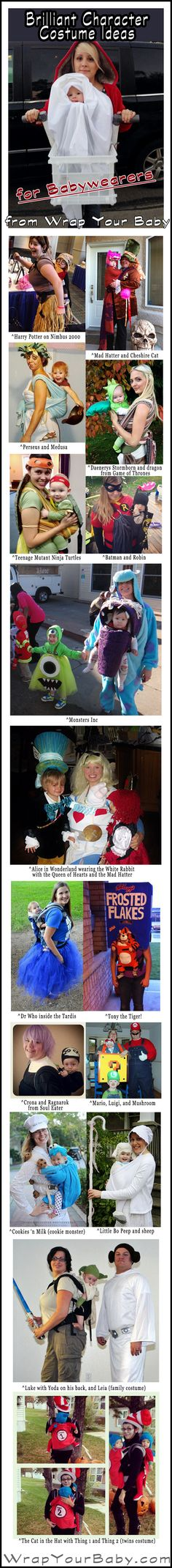 72 best Babywearing Costumes for Halloween images on Pinterest in - good halloween costumes ideas