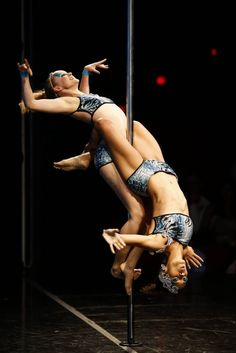 Pole Dance Doubles - Two is better than one