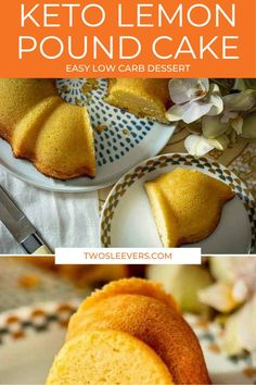 This Keto Lemon Pound Cake might be one of the most crave worthy cakes you've ever had! And believe it or not, this cake is low carb as well! Keto Lemon Pound Cake | Low Carb Lemon Pound Cake | Lemon Pound Cake | Best Lemon Pound Cake Recipe | Keto Cake Recipes | Low Carb Cake Recipes | Gluten Free Cake Recipes | Keto Dessert Recipes | Low Carb Dessert Recipes | Gluten Free Dessert Recipes | TwoSleevers | #twosleevers #keto #lowcarb #lemon #poundcake #glutenfree