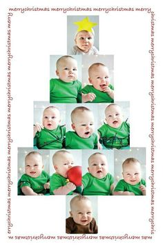 Christmas card baby photo christmas tree! Family green infant toddler kids creative funny shirts tree holiday DIY announcement winter Photo Christmas Tree, Baby Christmas Photos, Babies First Christmas, Toddler Christmas, Xmas Tree, Funny Christmas Cards, Christmas Humor, Xmas Cards, Xmas Pictures