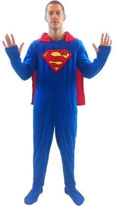 Event adult superman pajamas