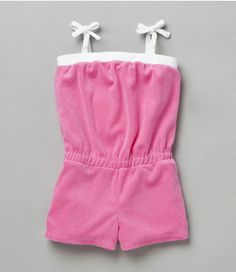 Romper diy terri cloth? for the beach