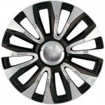 "15"" Car Exterior Avalone Chrome Black Spoked Wheel Trims / Hub Caps"