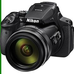 Nikon Coolpix P900 Full Package with Battery, Charger, 8GB SD Class 10 High Speed Memory Card  Shoot the moon with the 83x optical zoom COOLPIX P900 Digital Camera from Nikon. The camera has a 16MP CMOS sensor and a built-in lens with a 35mm equivalent focal length of 24-2000mm. For an even further reach, the camera also has 166x Dynamic Fine Zoom, and 332x digital zoom, effectively quadrupling the optical zoom. The P900 features Dual Detect Optical VR, providing up to five stops of ..