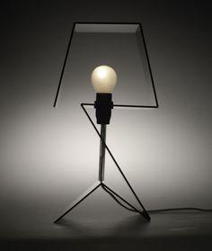 Pictolight, design by Gauthier Poulain Living Room Lighting, Home Lighting, Lighting Design, Lamp Inspiration, Contemporary Lamps, Lamp Design, Lamp Light, Night Light, Floor Lamp