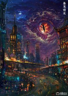 Fantasy Art Landscapes, Fantasy Landscape, Fantasy Monster, Monster Art, Fantasy Places, Fantasy World, Arte Horror, Horror Art, Dark Fantasy Art