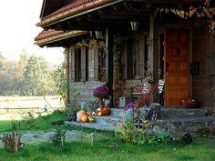 adelaparvu.com despre casa rustica din lemn cu interior clasic, casa Polonia, pensiune Stanica Rzeczna (38)