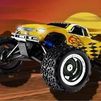 Drive your 4×4 monster truck and try to complete each level in the shortest time. Race over mountains, cars, bridges and other obstacles while keeping your truck balanced.
