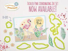 KreatesKards Journey: Tickled Pink Stamp Set & Die Bundle Now Available ...