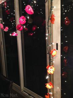 Pirates and Pixies Birthday Party Theme #DisneySide #BirthdayParty #FlowerGarland #FlowerLights