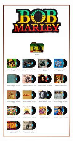 Album Art Icons: Bob Marley
