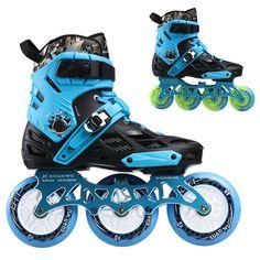 Sports & Entertainment ... ... Roleri i skejtovi ... 3 Wheel / 4 Wheels Inline Skates Xuanwu Roller Slalom Skate Convert to Inline Speed Skates Frame Base for SEBA Powerslide User