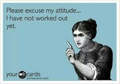 Please excuse my attitude! I have not worked out yet!  Come get your fitness on at Fitness Together in Novi, MI!  Get personal one-on-one-training, a nutrition guideline, and other services that will change your life for the better!  Call (248) 348-9230 or visit our website www.fitnesstogether.com/novi for more information!