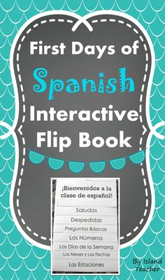 Interactive flip book for on the basics of Spanish. Can stand alone or be added to an interactive notebook.