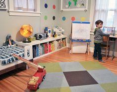 Fun toddler room