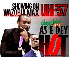 """WazobiaMax stands out with """"As E Dey Hot""""   On air personality Ezugwu Chukwudi who anchors WazobiaMax foremost current affairs programme As E Dey Hot has shared insights on himself and life in the media industry. The show which is presented fully in pidgin the language of the people touches on every subject that is currently on the front burner in the country and shows free to air on WazobiaMax UHF 57; you can also keep up with the programme on the WazobiaMax Youtube channel. Tell us a bit…"""
