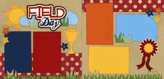 Field Day Page Kit  Out On A Limb Scrapbooking