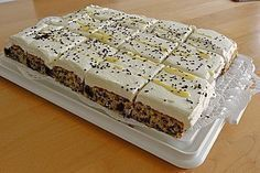 Kirsch - Eierlikör - Blechkuchen mit Schmand - Sahne 6