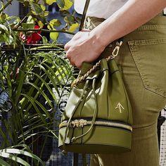 Olive Zeal... MANU Atelier Leather Goods, Handbags