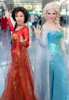 Fire and Ice Elsa