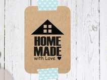 Stempel  - Home Made with Love ♥