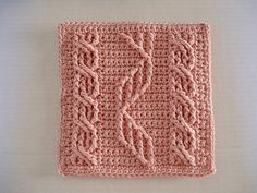 Ravelry: Cables for Pam pattern by Bendy Carter--helix cable