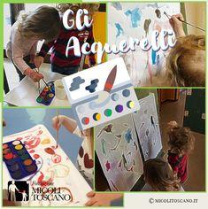 Nuovi approcci e apprendimenti per i bambini di 24-26 mesi: gli acquerelli. Playing Cards, Games, Playing Card Games, Gaming, Game Cards, Plays, Game, Toys, Playing Card