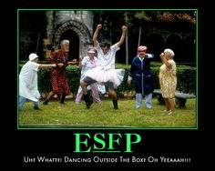 Extroverted Sensor Feeling Perceiving Personality Type MBTI