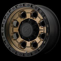 ATX Matte Bronze W/ Black Lip Wheels - American Racing Equipment, Inc. is the largest wheel company in the world, distributing more than Jeep Wheels, Off Road Wheels, Truck Wheels, Tacoma Wheels, Rims And Tires, Wheels And Tires, Car Rims, Truck Rims, Bronze Wheels