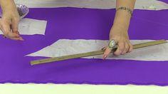 Выкройка юбки годе со шлейфом