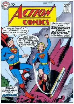 Action Comics #252 - The Menace of Metallo! / Congo Bill Dies at Dawn! / The Supergirl From Krypton!