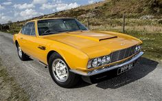 The 1970 Aston Martin DBS which starred in the hit British television series 'The Persuaders!'