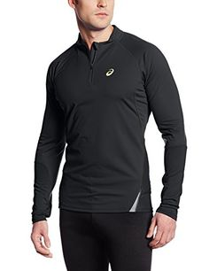 Asics Men's Fujitrail Long Sleeve 1/2 Zip Top, Performance Black/Electric Lime, Small ASICS http://www.amazon.com/dp/B00IANJLL8/ref=cm_sw_r_pi_dp_qSwzvb13PJ5PA