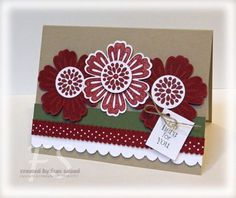 mini curly label cards stampin up - Bing Images