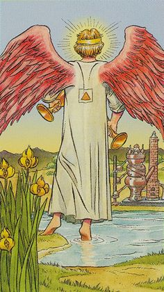 XIV. Temperance: Tarot of the New Vision
