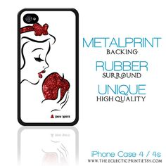 Disney Princess Snow White Minimalist iPhone 4 by TheEclecticPrint, $28.50