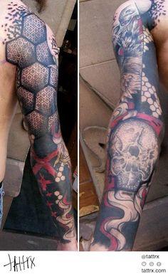 Jubss Lili Contraseptik - Geometric | Skull Sleeve