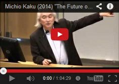 Michio Kaku – The Future of the Mind ❤️❤️ I will take his class one day!!