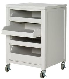 Martha Stewart Living™ Craft Space Cart with Pull-Out Trays - Martha Stewart Living™ Craft Space - Storage And Display | HomeDecorators.com  $178