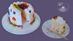 Ovocná torta pre Dianku ❤️ , všetko ostatné, fotopostupy | Tortyodmamy.sk Birthday Cake, Pudding, Fruit, Diana, Food, Youtube, Birthday Cakes, Custard Pudding, Essen