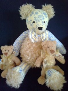 Bosley B.Bearz Aust.made ...looking to be adopted to a new home[for sale]....by Amanda Wilson for Dreamtime Designs