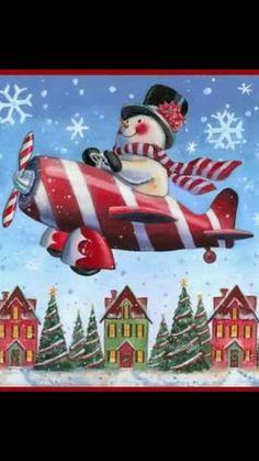 Snowman/Plane