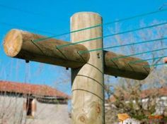 Etendoir à linge en bois Prima