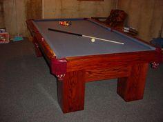 My Homemade Pool Table