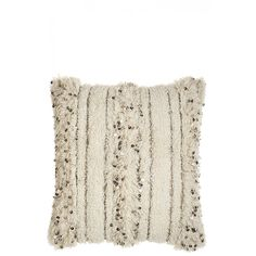 Moroccan Sequin Embellished Pillow