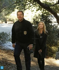 Michael Weatherly and Emily Wickersham in- Episode 11.12 - Kill Chain
