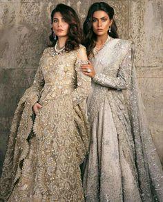 Sana Safinaz Bridal Wear Collection Winter Sale Bridal Dresses Ultimate Guide to Buying Dress by sana safinaz. Sana Safinaz Diffusion gown and Couture Bridal Catalog Indian Bridal Wear, Pakistani Wedding Dresses, Indian Wedding Outfits, Pakistani Outfits, Bridal Outfits, Indian Dresses, Indian Outfits, Pakistani Clothing, Wedding Hijab