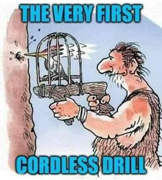 Funny Cartoons, Funny Comics, Old Age Humor, Funny Quotes, Funny Memes, Scout Leader, Cheer You Up, Cordless Drill, Adult Humor