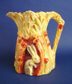 Independent Art Deco Burleigh Ware Dragon Jug Figural Jug Super Item Circa 1920s Cool In Summer And Warm In Winter Burleigh/burgess & Leigh China & Dinnerware