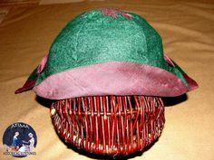 XIV century - Mongolian - wool hat with silk lining